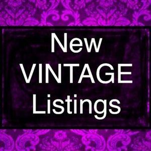Other - New Vintage Listings